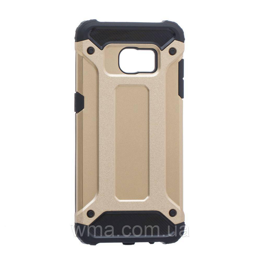Задняя Накладка Motomo X5 For Samsung S7 Edge Цвет Золотой