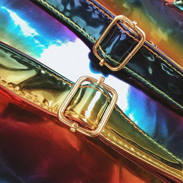 Радужный рюкзак шлейки