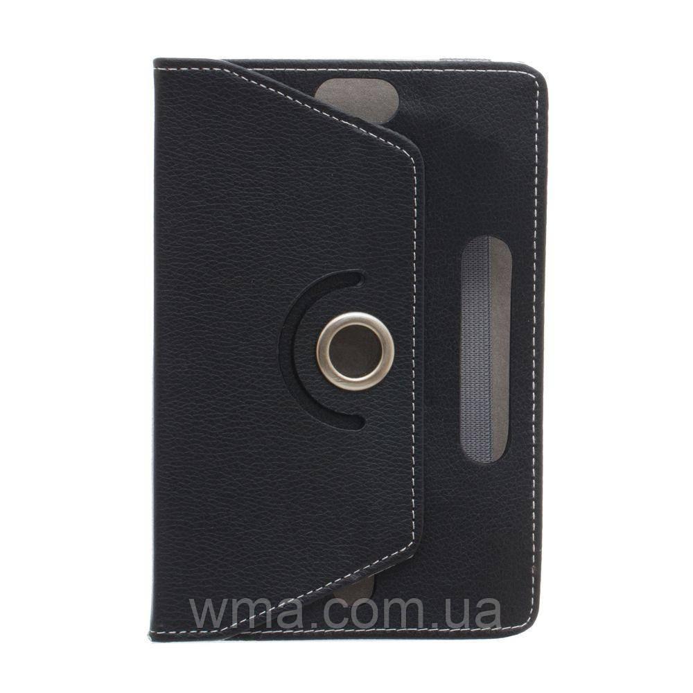 """Книжка Универсал Flat Leather Pad 10"""" Цвет Чёрный"""