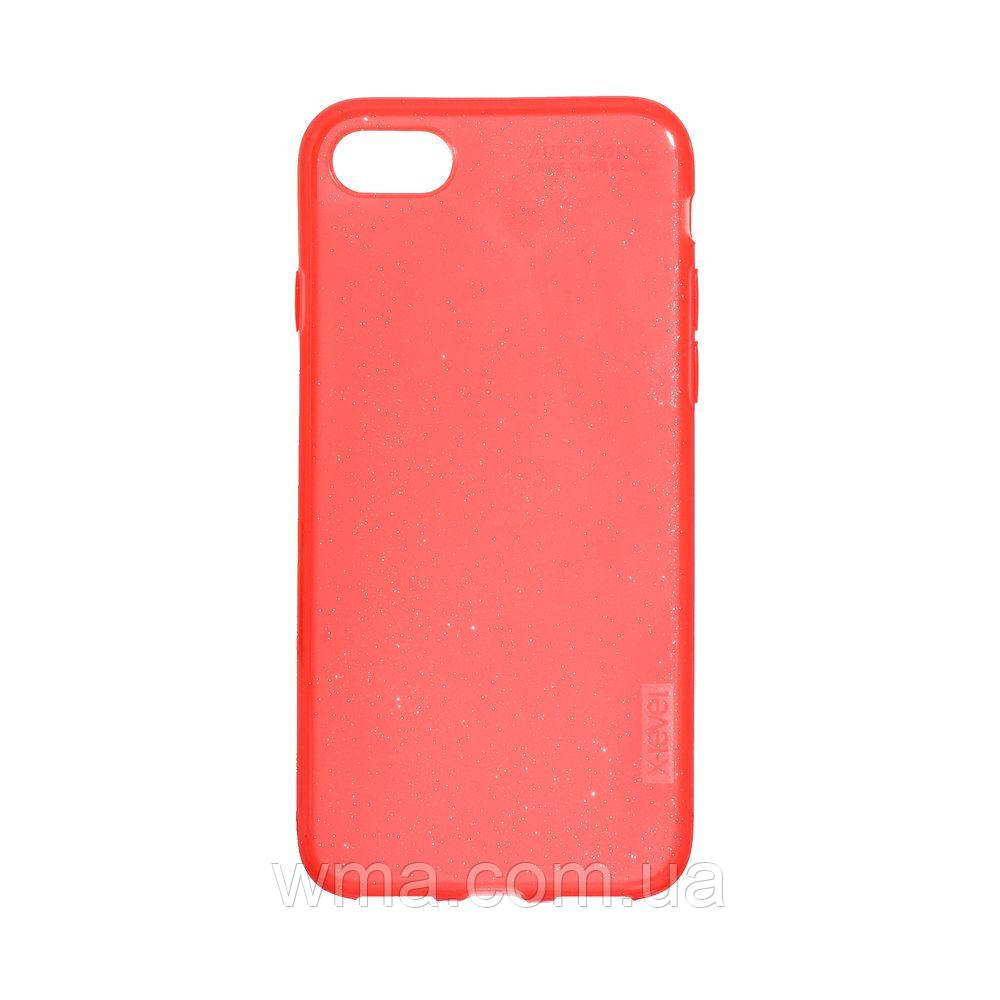 Чехол для телефонов (Смартвонов) Задняя Накладка X-Level Rainbow Shell for Apple Iphone 7G / 8G Цвет Красный