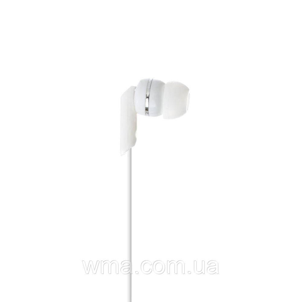 Проводные наушники для телефона MP3 MS-E552MP Цвет Белый