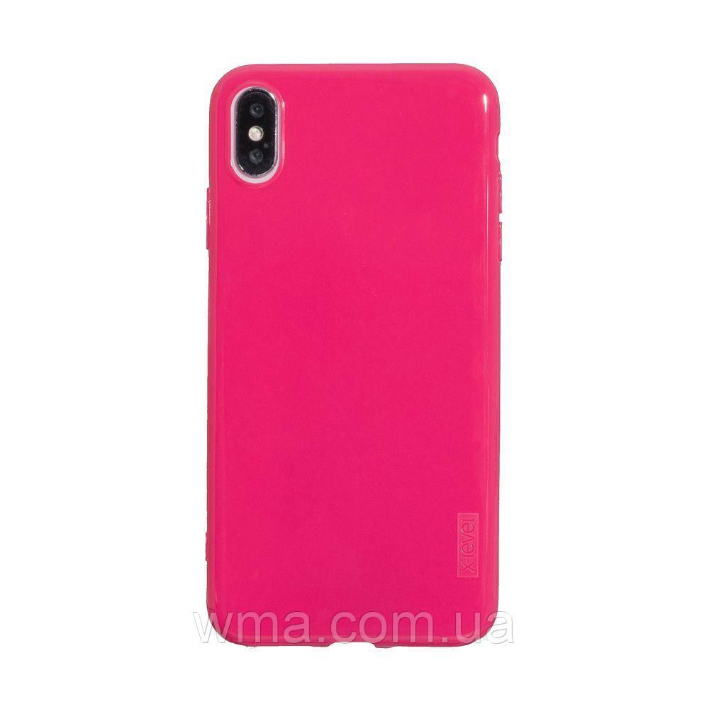 Чехол для телефонов (Смартвонов) Задняя Накладка X-Level Antislip for Apple Iphone X / Xs Цвет Розовый