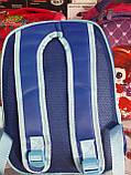 Детский рюкзак синий сердечки, фото 2