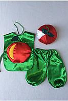 Детский карнавальный костюм Bonita Яблоко №1 95 - 110 см Красный
