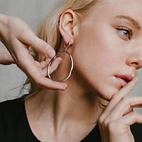 Серебряные серьги – основа женского образа