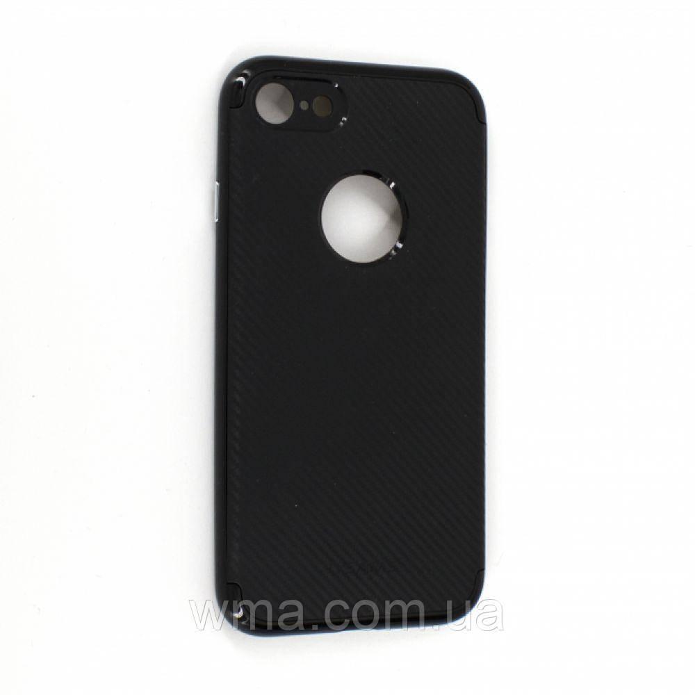 Чехол для телефонов (Смартвонов) Задняя Накладка Usams Lucas Iphone 7G Цвет Чёрный