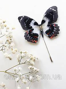 grand ua Бабочка цветная брошь