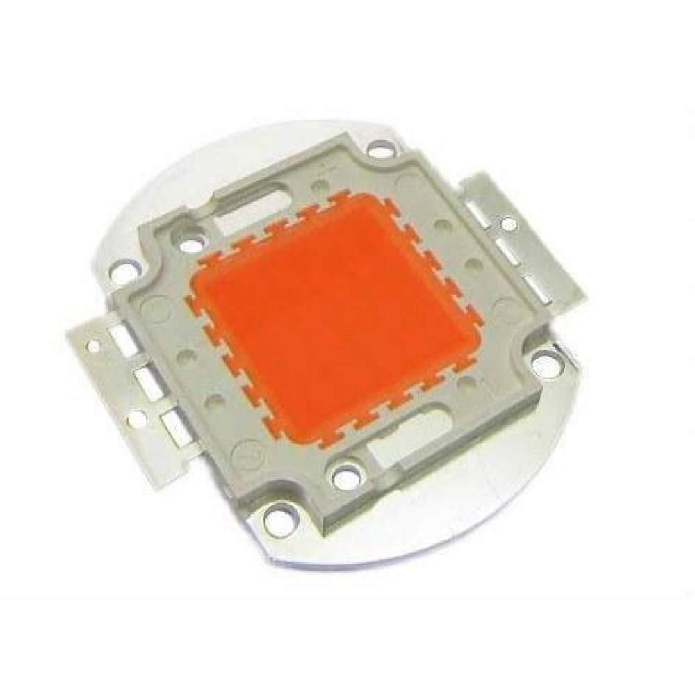 Светодиод для растений (Фитосветодиод) LED 30Ватт DC 12V (Copper 30MIL)