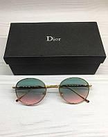 Женские солнцезащитные очки Dior 2020 овальные градиент