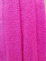 Ткань малиновая хлопковая махра 380 г/м2 Турция
