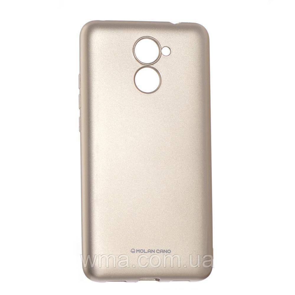 Силикон Molan Shining Huawei Y7 2017 Цвет 09, Золотой