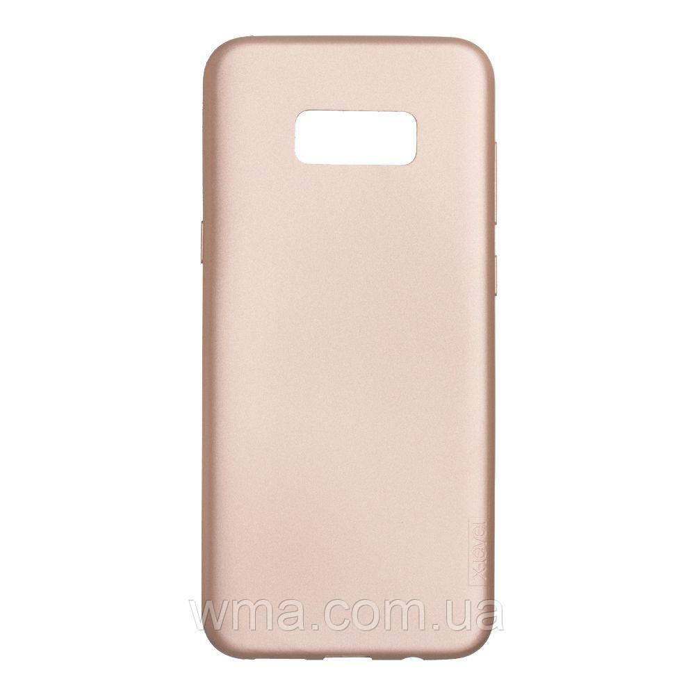 Силикон G-Case Guardian Samsung S8 Plus Цвет Золотой