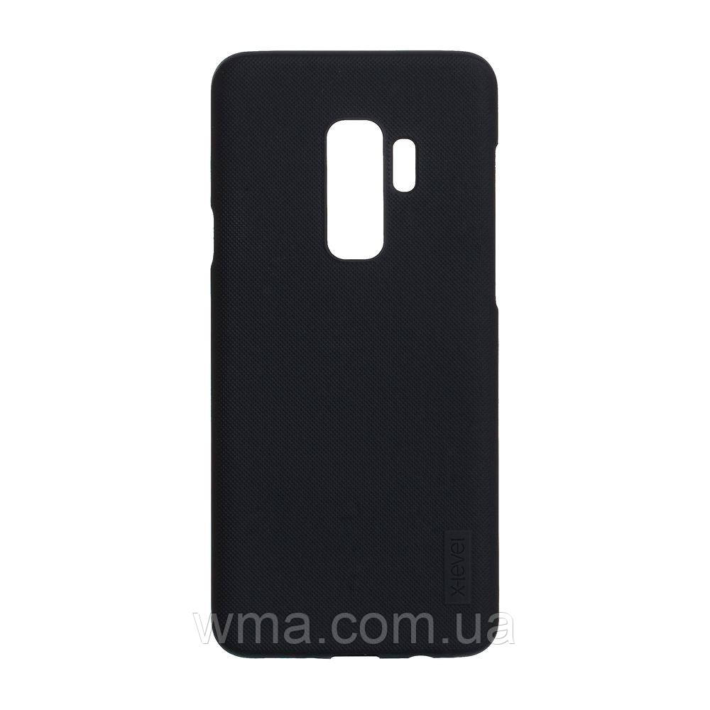 Задняя Накладка X-Level Warrior Hero for Samsung S9 Plus Цвет Чёрный