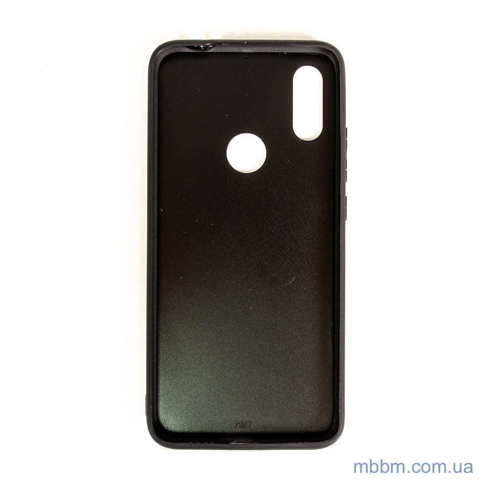 Чехлы для Xiaomi Redmi Note 7 TPU + Glass Luxury Marble голубь