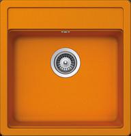 Гранитная мойка Schock Nemo N 100 S Cristalite (orange)