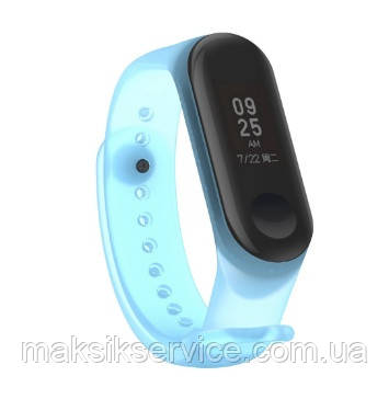 Ремешок Silicone Explorer Xiaomi Mi Band 3 blue
