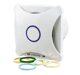 Бытовой вентилятор Вентс 100 ХВ (оборудован шнурковым выключателем)