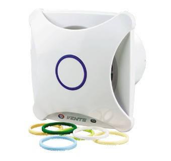 Бытовой вентилятор Вентс 100 ХВ (оборудован шнурковым выключателем), фото 2