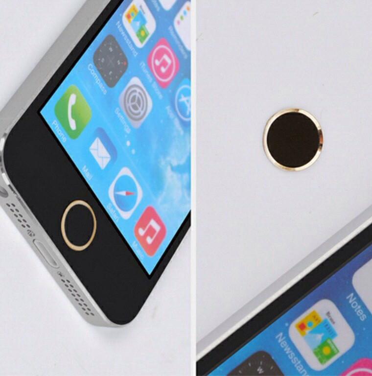 Стикеры/наклейка на кнопку Home для Iphone 5/5S