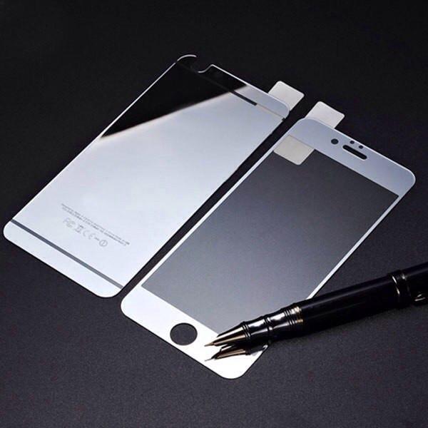 Зеркальные стекла для Iphone 6 plus/Iphone 6S plus на переднюю и заднюю панель