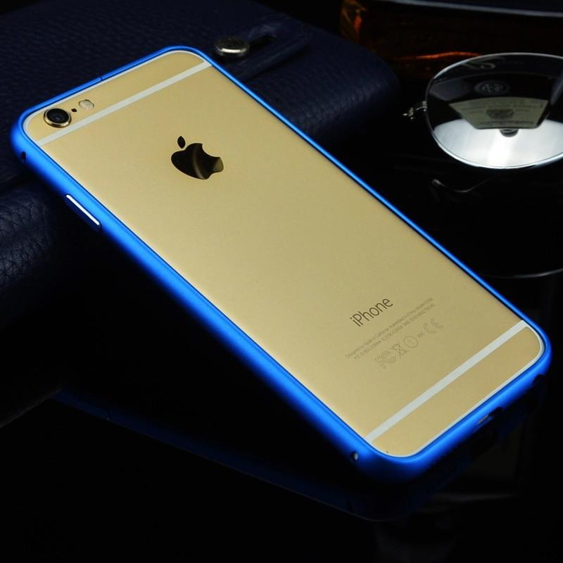 Бампер для Iphone 6 plus/Iphone 6s plus противоударный синий