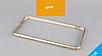 Бампер для IPhone 6plus/6s plus алюминиевый противоударный золотой, фото 4