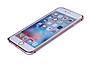 Бампер для Iphone  6, 6S Металлический розовый, фото 2
