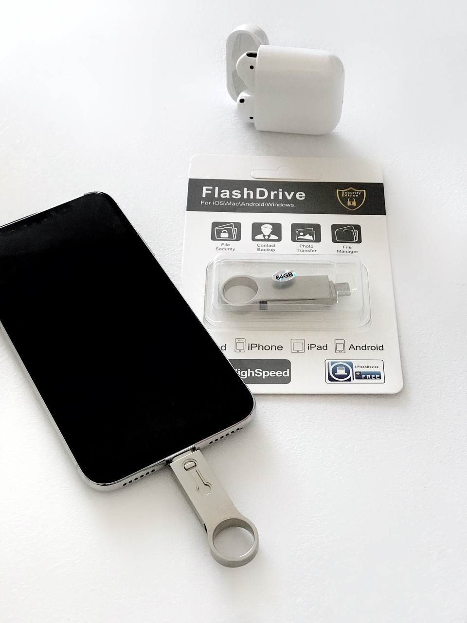 Usb flash/флешка 64 Gb для Iphone/Ipad  new