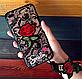 Чехол силиконовый Новинка для Iphone 6/6s с ремешками 3D принт, фото 3