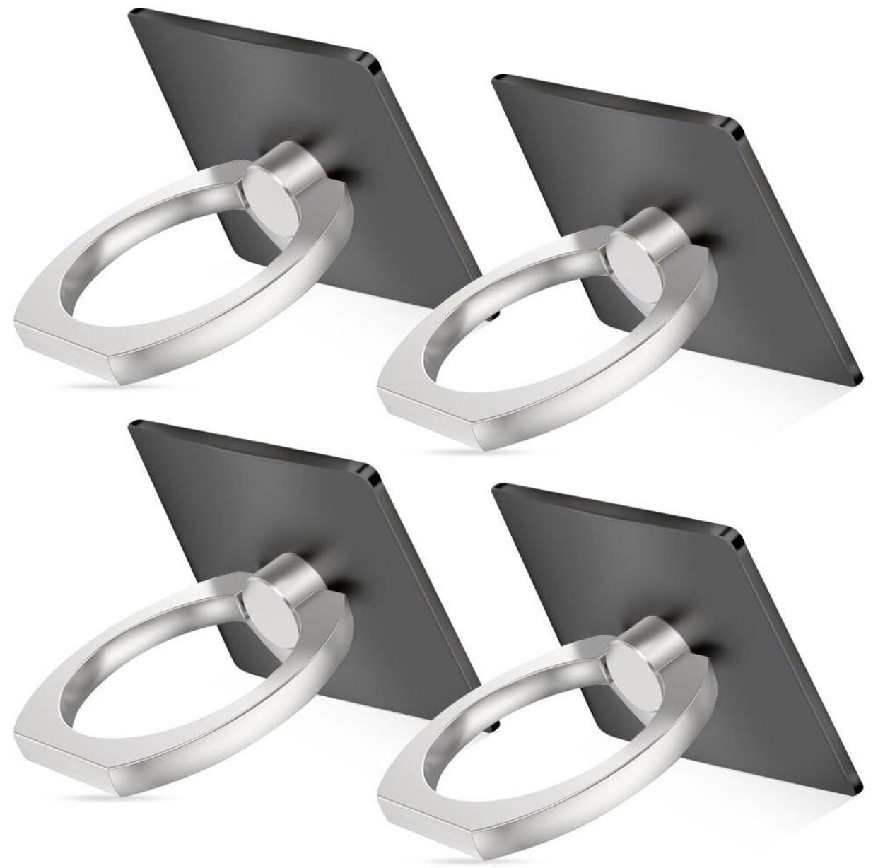 Кольцо-Подставка Iring для телефона и планшета + подарок black
