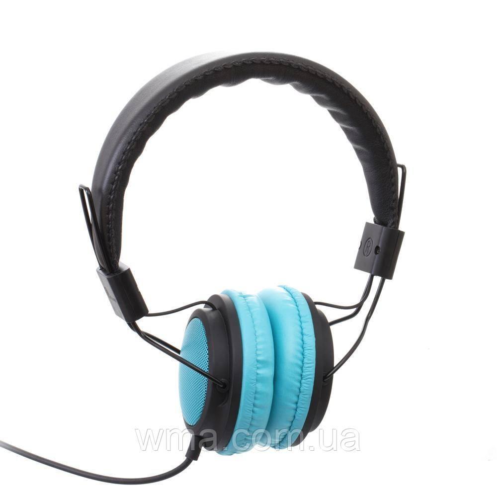 Проводные наушники для телефона Sonic Sound E110/MP3 AA Цвет Голубой