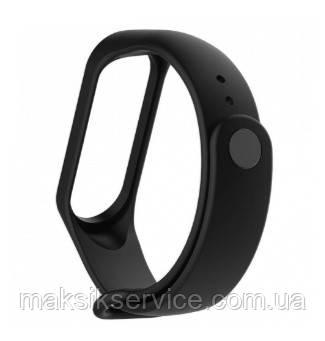 Ремешок Silicone Xiaomi Mi Band 3 black