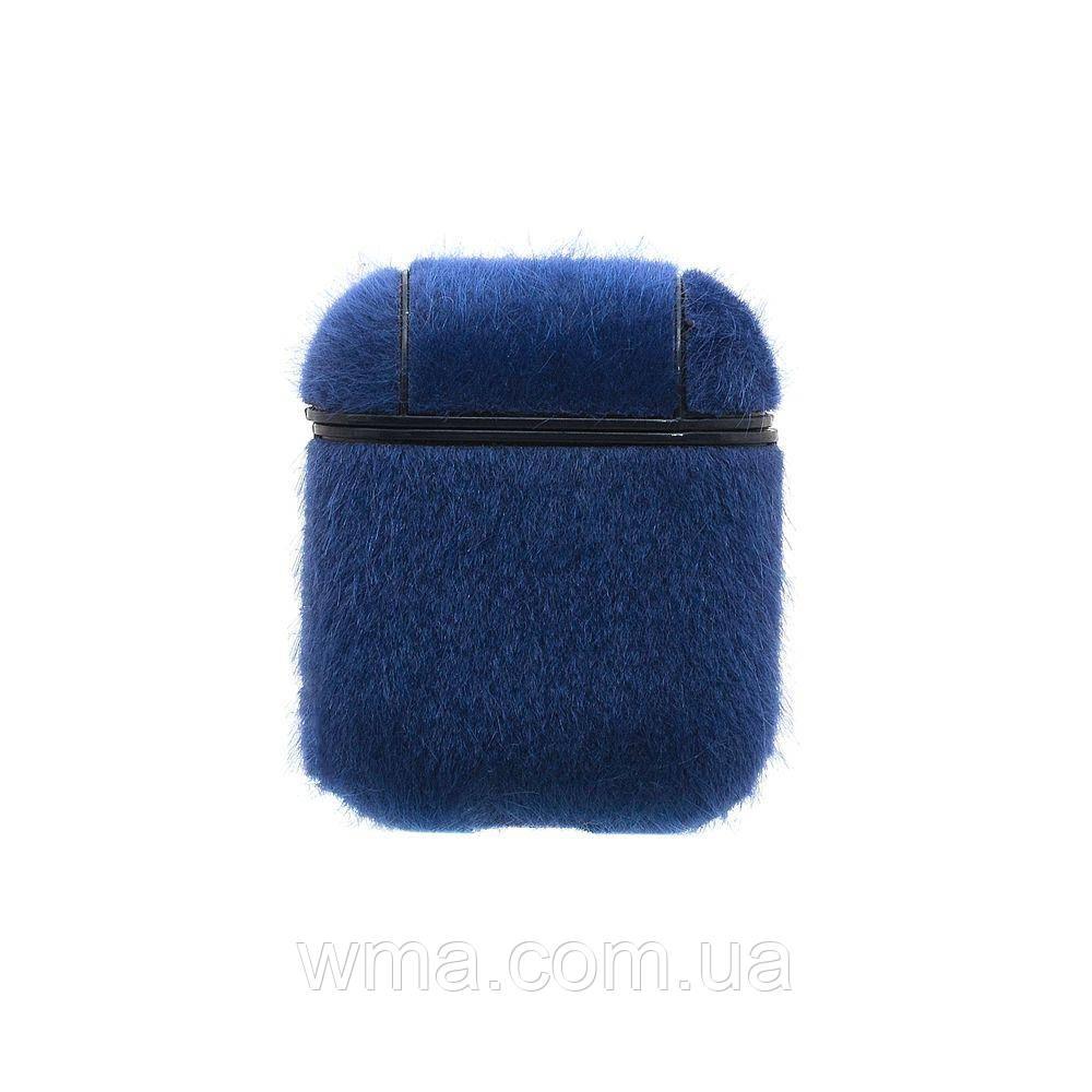 Футляр Для Наушников Airpod Wool Цвет Синий
