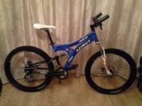 Горный двухподвесный велосипед Azimut NEO 26