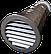 Воздушный приточный клапан в стену КПС-125 (до 40 м3/час), фото 4