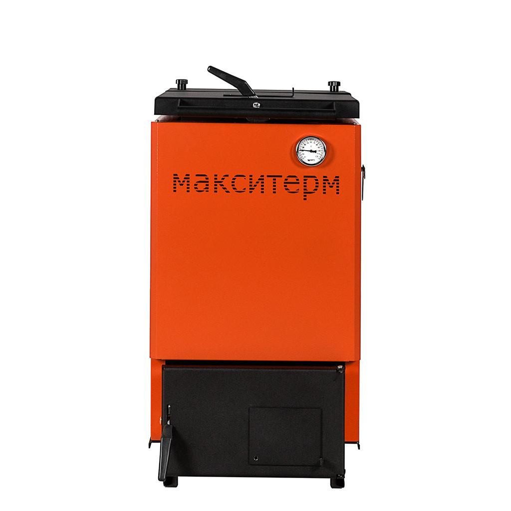 Шахтный котел с жаротрубным теплообменником Макситерм Классик 18 кВт