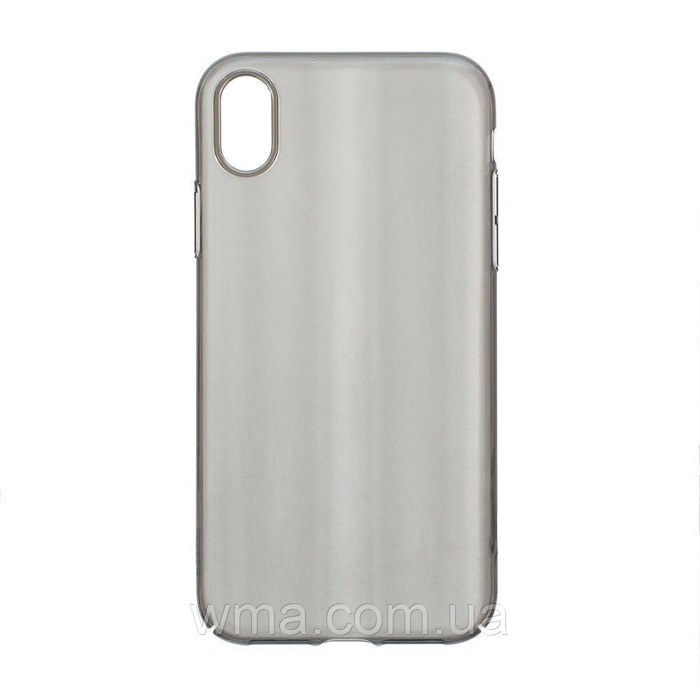 Чехол для телефонов (Смартвонов) Задняя Накладка Baseus Iphone Xr WIAPIPH61-JG Цвет Чёрный, 01