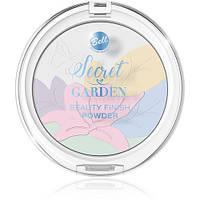 Пудра многоцветная корректирующая 9гр №1 (Secret Garden)