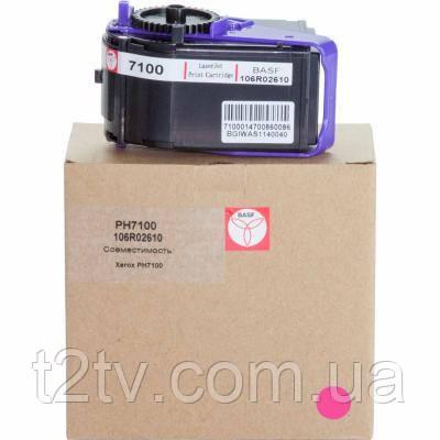 Картридж BASF для Xerox Phaser 7100 Magenta (KT-106R02610)