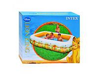 Детский надувной бассейн Intex 57492, Дисней, 262-175-56см