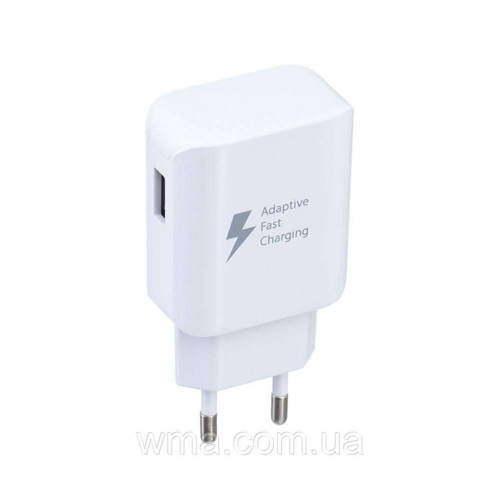 Сетевое зарядное устройство usb (Для телефонов и планшетов) Samsung Fast Charge EP-TA300 Micro USB Цвет Белый