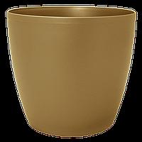 Цветочный горшок МАТИЛЬДА с системой контроля полива + дренаж (Алеана) 20х18
