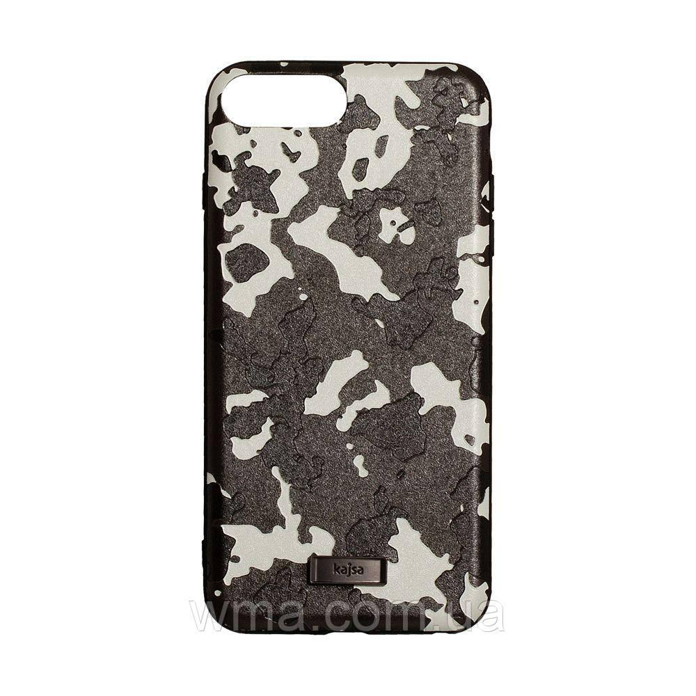 Чехол для телефонов (Смартвонов) Задняя Накладка Kajsa Military for Apple Iphone 8 Plus Цвет Серый