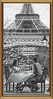 Набор для вышивания нитками на канве Париж - город любви. Молодость АС 6009
