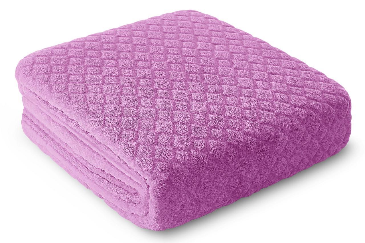 Плед Микрофибра Tom Eurofirany 8847 220x240 см Розовый