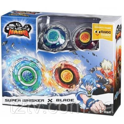 Волчок AULDEY Infinity Nado Стандарт баттл Super Whisker & Blade (YW624313)