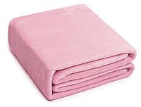Плед Микрофибра Классический 030 Однотонный Oulaiya 3628 200x220 см Розовый