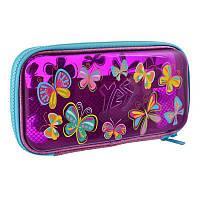 Пенал твердый пластиковый 3D Yes HP-07 Butterflies (532320)