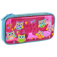 Пенал твердый пластиковый 3D Yes HP-07 Funny Owls (532322)