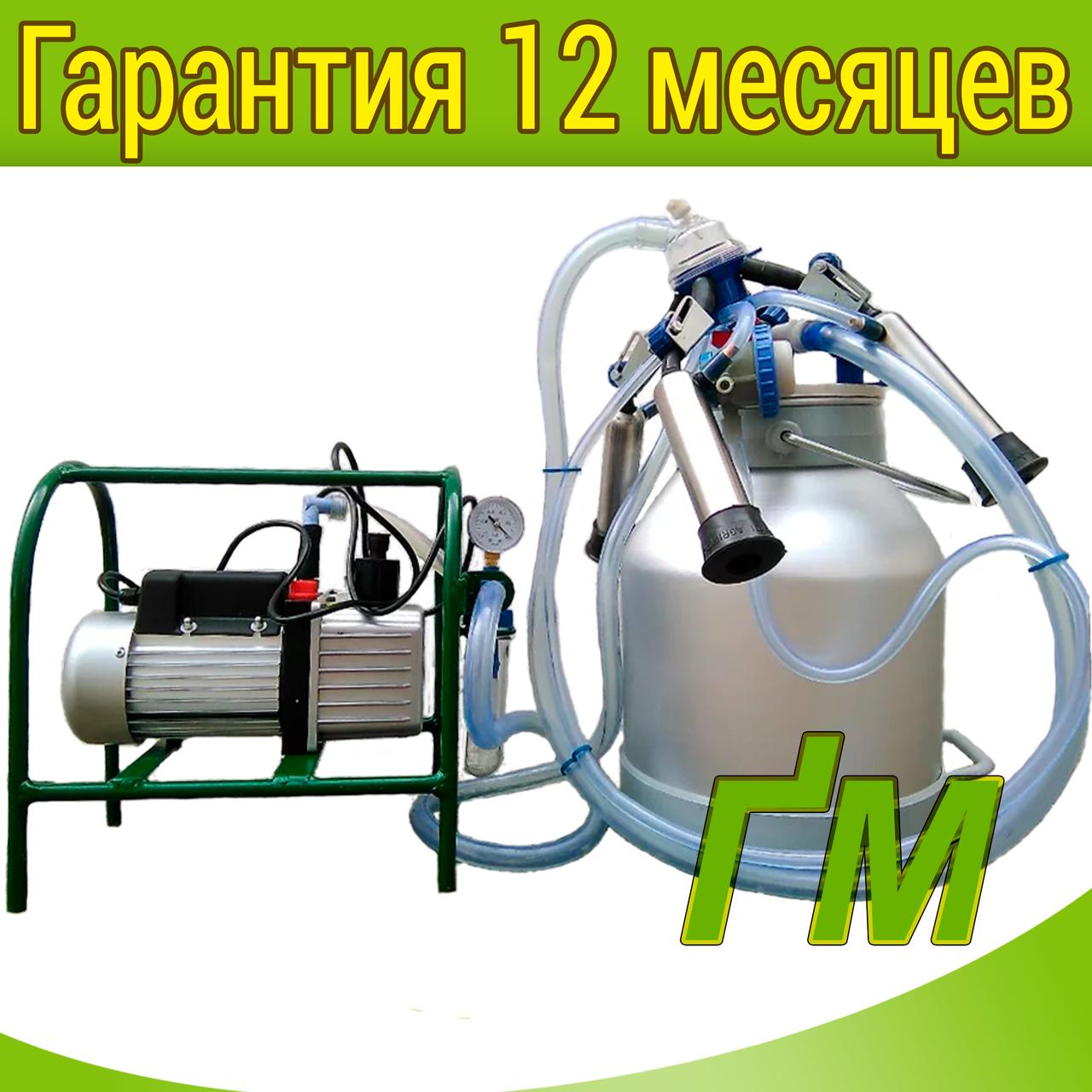 Масляный доильный аппарат Импульс-Ротор Нержавейка